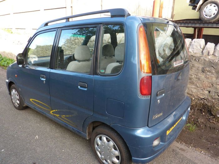 Perodua Kenari 1.0 EZ 5dr Auto BREAKING FOR SPARES ONLY Estate Petrol Blue