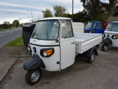 Piaggio Ape 0.4 APE CLASSIC 420 Pick Up Diesel VariousPiaggio Ape 0.4 APE CLASSIC 420 Pick Up Diesel Various at Knightcott Motors Weston-Super-Mare