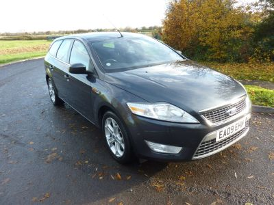 Ford Mondeo 1.8 TDCi Titanium 5dr [6] Estate Diesel GreyFord Mondeo 1.8 TDCi Titanium 5dr [6] Estate Diesel Grey at Knightcott Motors Weston-Super-Mare