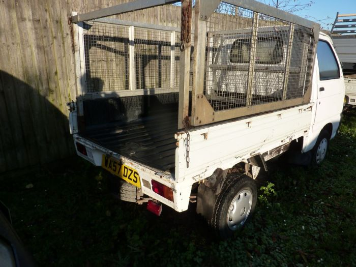 Piaggio Porter 1.3 Standard Dropside With Cage And Liner Pick Up Petrol White