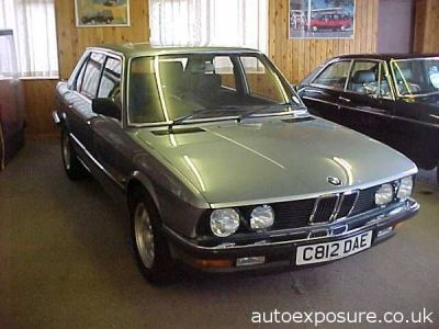 BMW 5 Series 2.8 E28 528i SE 4 Door Saloon Saloon Petrol BlueBMW 5 Series 2.8 E28 528i SE 4 Door Saloon Saloon Petrol Blue at Knightcott Motors Weston-Super-Mare