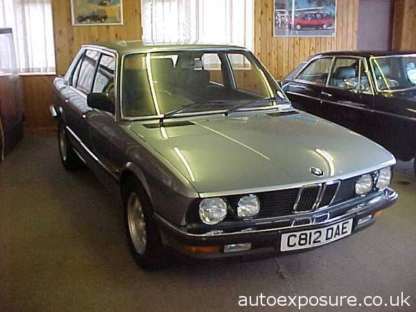 BMW 5 Series 2.8 E28 528i SE 4 Door Saloon Saloon Petrol Blue
