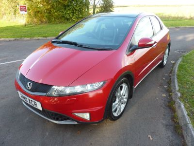 Honda Civic 1.8 i-VTEC EX GT 5dr Hatchback Petrol RedHonda Civic 1.8 i-VTEC EX GT 5dr Hatchback Petrol Red at Knightcott Motors Weston-Super-Mare