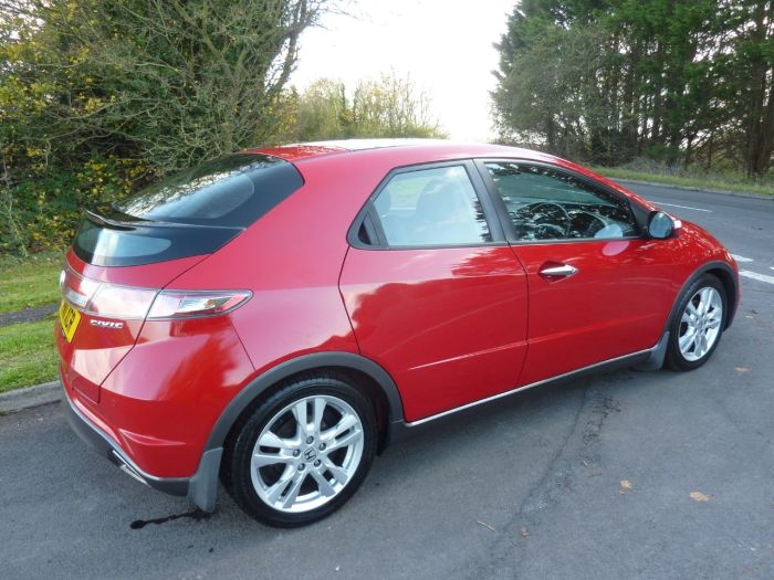 Honda Civic 1.8 i-VTEC EX GT 5dr Hatchback Petrol Red