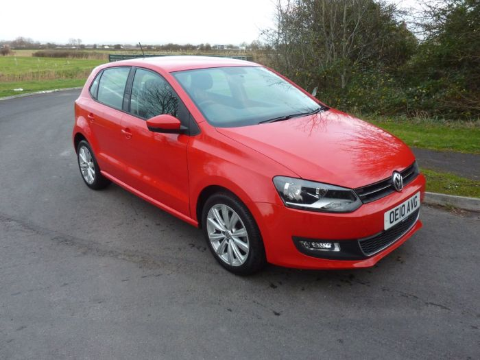 Volkswagen Polo 1.2TSi SEL Hatchback Petrol Red